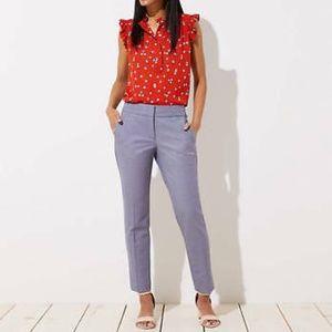 NWT Ann Loft - Marisa Slim Ankle Pants, 2P